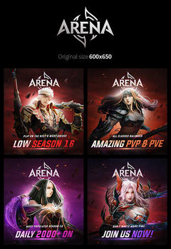 Mu Arena Banners Pack