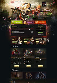 Metin2 Avalon Game Website Template